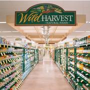简约风格超市货架效果图