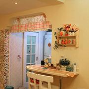 欧式田园风格客厅吧台装饰