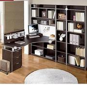 韩式清新书柜装饰