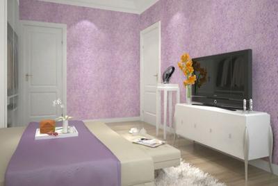 三室一厅一卫卧室墙衣装修效果图