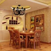 欧式餐厅罗马柱装饰