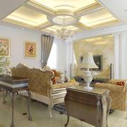 欧式简约清新客厅装饰