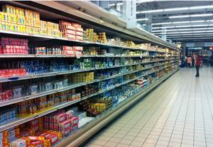实用欧尚超市货架装修效果图