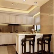 美式简约小型厨房装饰