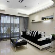 精装客厅窗户设计