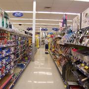 现代简约风格超市货柜装饰