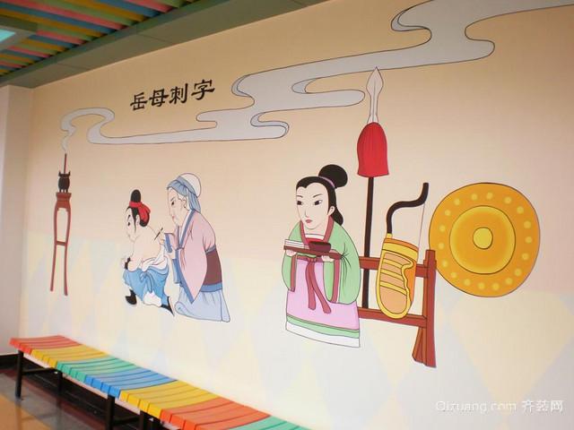 幼儿园动漫壁画装修设计效果图