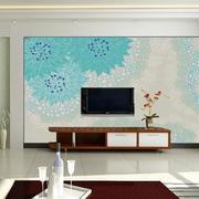 现代简约风格印花客厅背景墙