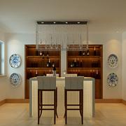 现代简约风格酒柜吧台装饰