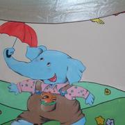 经典幼儿园墙面壁画设计