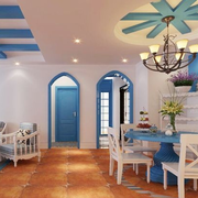 地中海餐厅创意灯饰装饰