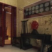 中式古韵简约风格玄关装饰