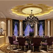 三室一厅欧式内嵌式酒柜装饰