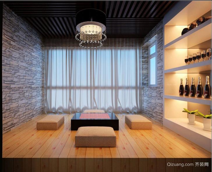 90平米大户型后现代日式卧室榻榻米装修效果图