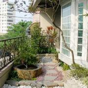 复式楼简约风格入户花园设计