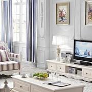 欧式风格简约客厅背景墙装饰