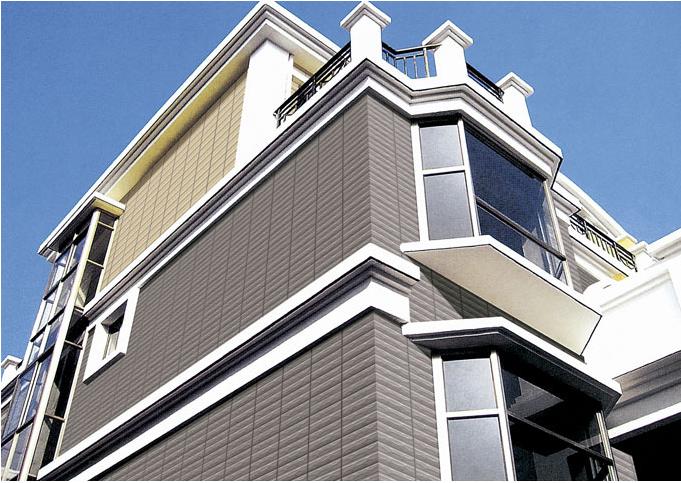 15现代豪华型别墅 外墙砖 装修 效果图