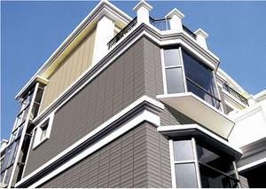2015现代豪华型别墅外墙砖装修效果图