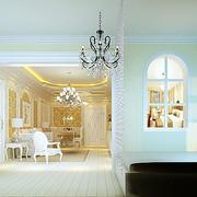 欧式现代简约风格客厅装修