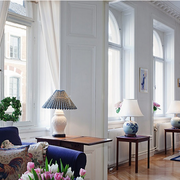 北欧风格公寓客厅灯饰装饰