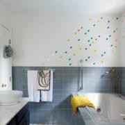 三室两厅简约风格浴缸装饰
