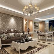 精致欧式大户型大厅设计