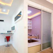 现代简约风格小房间装饰