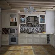 欧式小户型简约简约厨房橱柜装饰