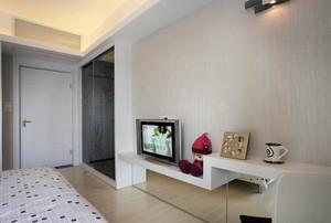 舒适现代的卧室电视背景墙装修效果图