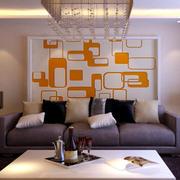 现代简约风格硅藻泥背景墙