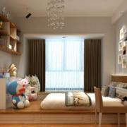 儿童房简约风格榻榻米装饰