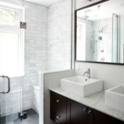 后现代风格厕所隔断装饰