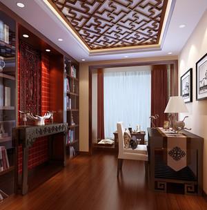 精致中式书房装修