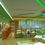 清新幼儿园室内环境装修