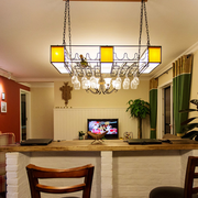 东南亚风格客厅吧台装饰