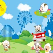 幼儿园喜羊羊系列壁纸装饰