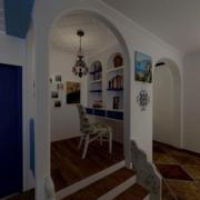 复式楼小型书房装饰