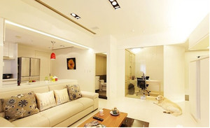100平米房屋简约风格客厅装饰
