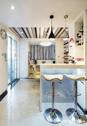 欧式中空别墅客厅装修效果图 齐装网装修效果图