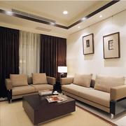 后现代风格小房间客厅装饰