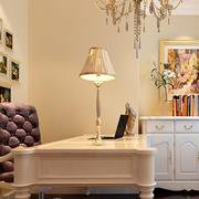 欧式奢华风格书房照片墙装饰