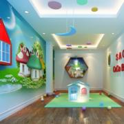 靓丽幼儿园背景墙设计