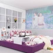 现代简约风格卧室榻榻米装饰