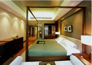 100平米中式房屋装修效果图