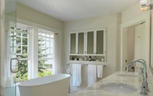 简欧风格双拼别墅卫生间设计效果图