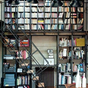 loft风格简易楼梯装饰