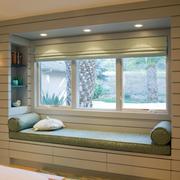 韩式清新卧室飘窗装饰