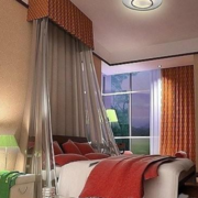 欧式风格卧室床饰装饰