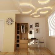 100平米房屋简约风格衣帽间装饰