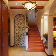度假别墅简约风格楼梯装饰
